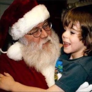 Timothy & Santa